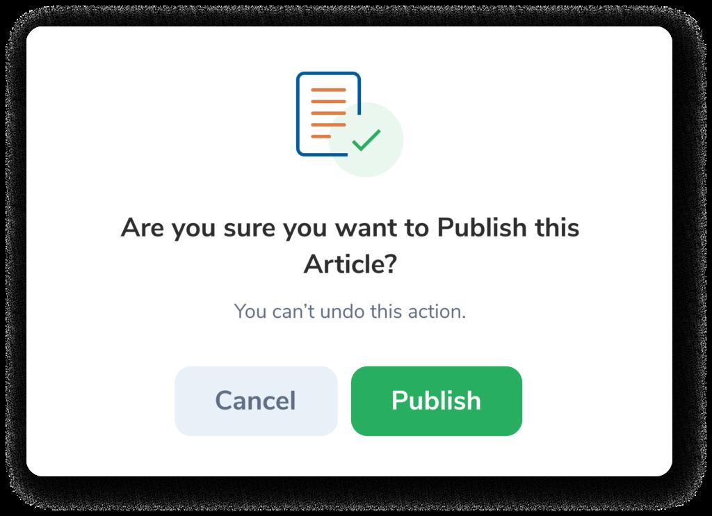 Contenteum's export to WordPress feature